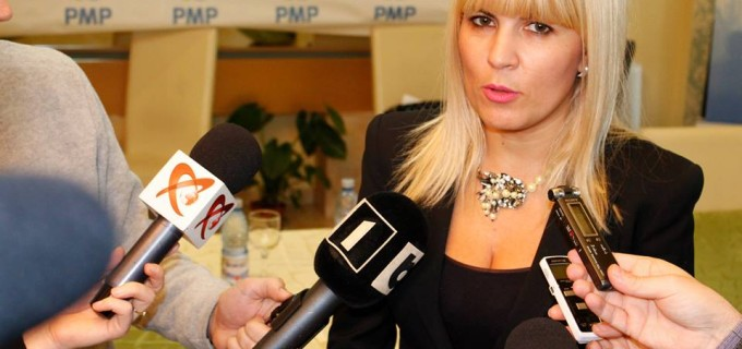 Elena Udrea intra in hora promotorilor Salinei Turda