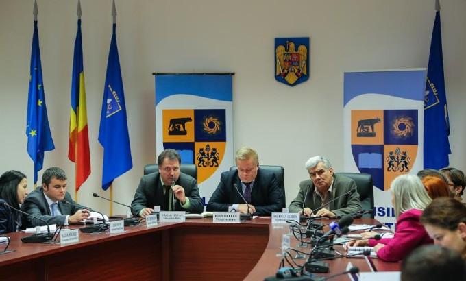 Fotografie de la lansarea programului
