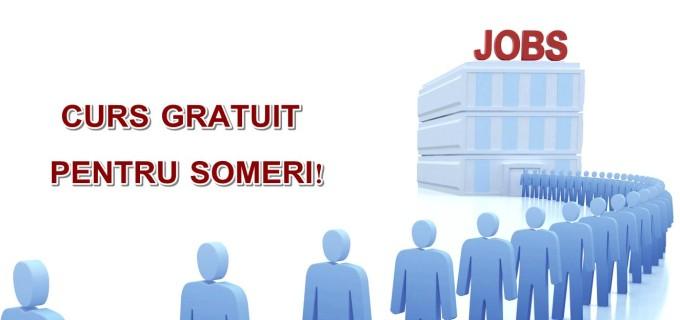 Curs GRATUIT pentru șomerii din Turda!