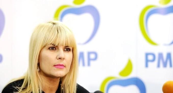 Elena Udrea vine sâmbată la Turda pentru a lansa organizații locale ale Partidului Mișcarea Populara