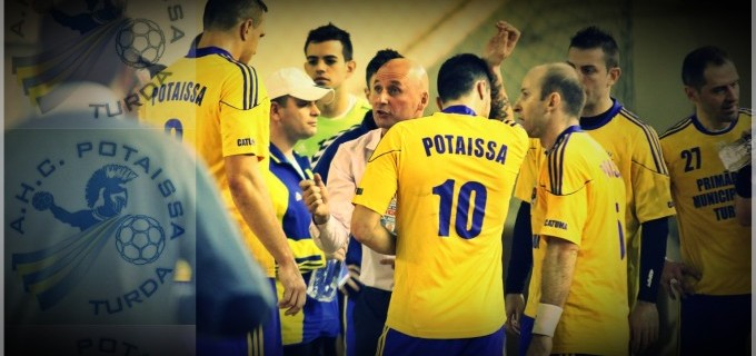 Potaissa Turda întâlnește azi HCM Constanța, în sferturile Cupei României la Handbal Masculin