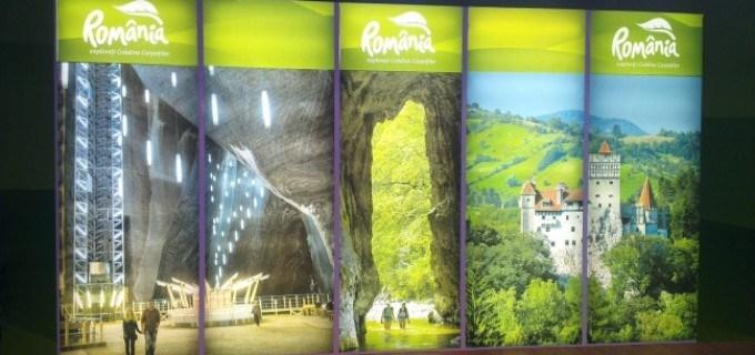 România este promovată la Târgurile de Turism cu poze din Salina Turda