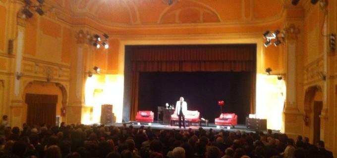 Florin Piersic a facut din nou spectacol la Teatru Municipal Turda