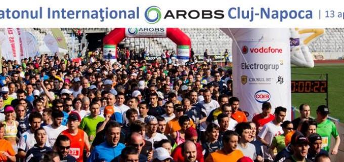 Duminică are loc a 4-a ediție a Maratonului Internațional AROBS Cluj-Napoca