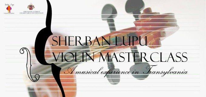 Prima ediţie a Master Class-ului Internaţional de Vioară, susţinut de Maestrul Sherban Lupu, are loc la Turda în perioada 1-13 iulie 2014