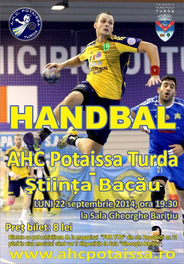 AFIS handbal AHC Potaissa Turda vs Stiinta Bacau