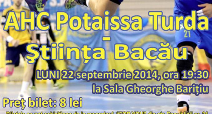 AHC Potaissa Turda vs. Stiinta Municipal Dedeman Bacau, derby-ul de la care nu trebuie sa lipsesti!