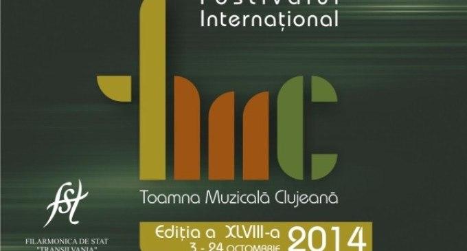 """Începe Festivalul Internațional """"Toamna Muzicală Clujeană"""""""