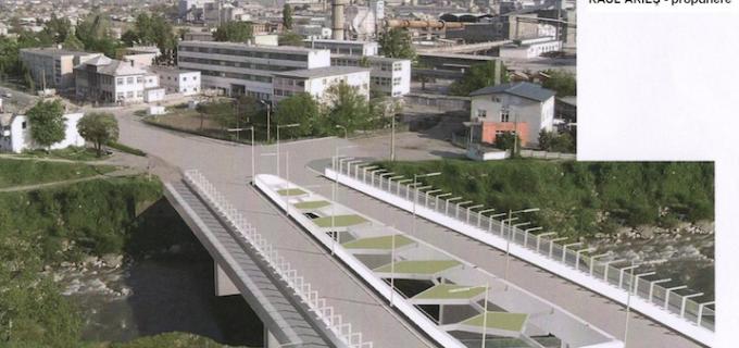 Restrictionare totala a circulatiei pe podul de peste raul Aries incepand cu data de 04.09.2014.
