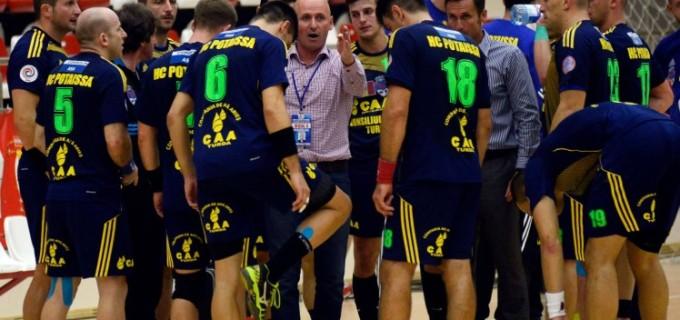 Dinamo – Potaissa, 39-23 în duelul echipelor cu cele mai bune ofensive din campionat