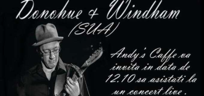 MUZICA live la Andy's Caffe – Ryan Donohue si Clay Windham (USA)
