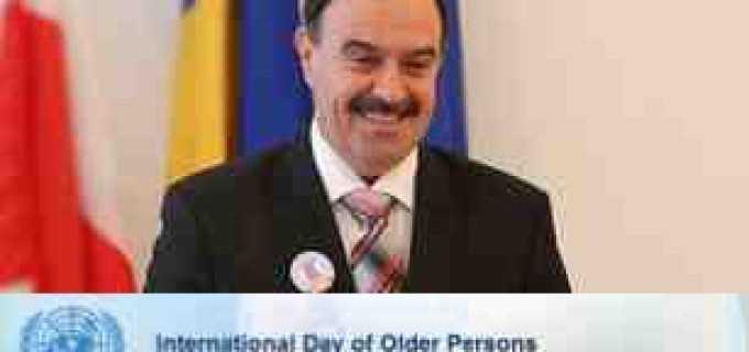 Tudor Stefanie: Mesaj Ziua Internationala a Varstnicilor