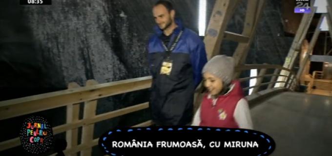 Salina frumoasă, România frumoasă, cu Miruna (Digi24)