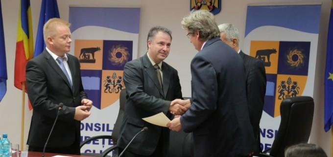 Vakar Istvan a fost ales ieri președinte interimar la Consiliul Județean Cluj