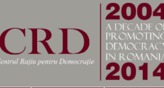 """CRD: Ceremonie de premiere a castigatorilor concursului national """"Toleranta si convietuire in spatiul public""""."""
