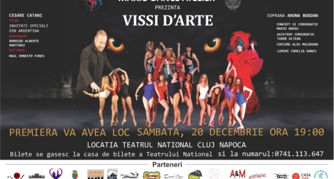 "Spectacol ""Vissi D'Arte"" ~ Sambata, 20 decembrie 2014 – Teatrul National Cluj-Napoca"