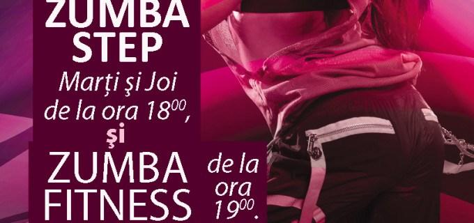 Acum și în TURDA: Zumba Step – noutatea de senzație din lumea dance-fitness-ului
