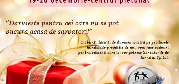 Fundația Doriana vinde decorațiuni de Crăciun pentru a face cadouri oamenilor internați la Spitalul Turda
