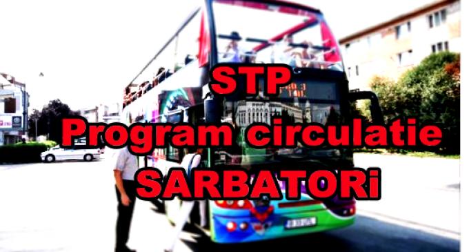 STP – Program de circulație în perioada Sărbătorilor Pascale