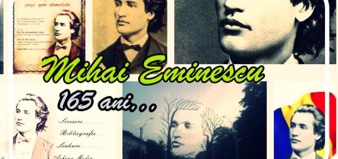 165 de ani de la nasterea lui Mihai Eminescu (1850-1889)