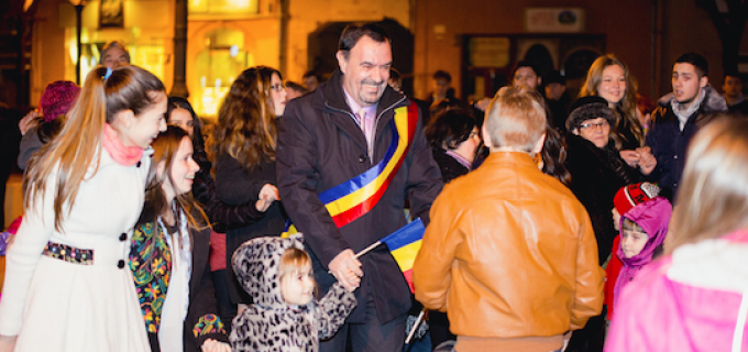 FOTO: Spectacol la Turda de Ziua Unirii – 24 ianuarie