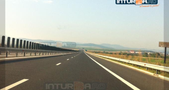 Noi restricții de circulație pe Autostrada A3 Turda-Gilau în 23-24 septembrie