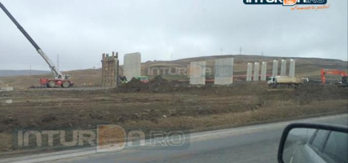 Restricţii de circulație între Turda și Aiud, cauzate de şantierul aferent Autostrăzii Sebeş-Turda