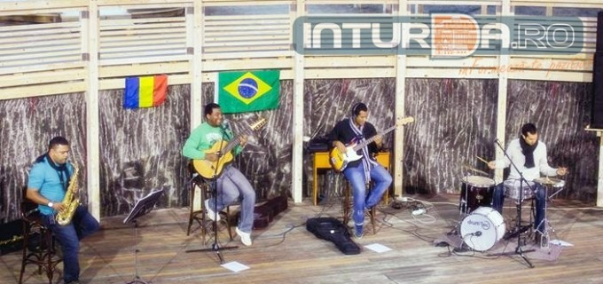 "Încântare marca ""Instrumental Cafe Brasil"" la Salina Turda"