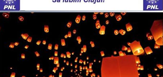 Sute de lampioane vor fi lansate sambata, de Ziua Indragostitilor, in Piata Unirii