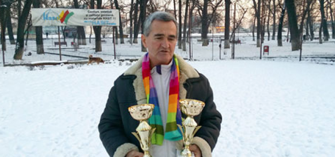 Tenismanul turdean, Petru Santeiu pe podim la Hungarian Indoor Championship
