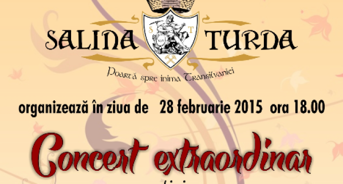 Prim-soprana Daniela Vladescu si Viorel Rus vor Concerta pe scena Salinei Turda