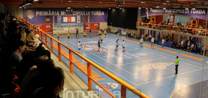 AHC Potaissa Turda – CSM Bucuresti 26-26 (13-14). FOTO: