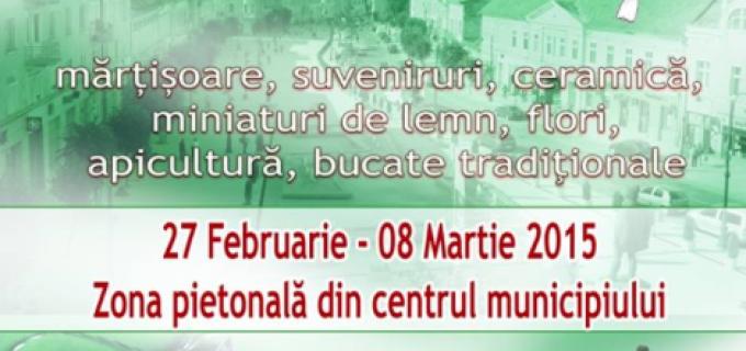 Astăzi debutează la Turda ediția specială de Mărțișor a Târgului meşteşugarilor, manufacturierilor şi artizanilor populari