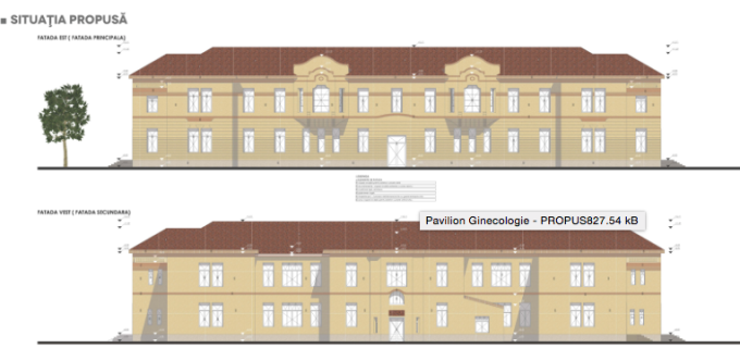 Primaria Turda a gasit o posibila solutie pentru reabilitarea Pavilionului de Ginecologie Turda