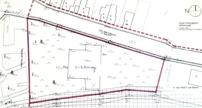 """Primaria intentioneaza sa concesioneze un teren pentru construirea unui """"centru de evenimente, targuri si expozitii"""""""