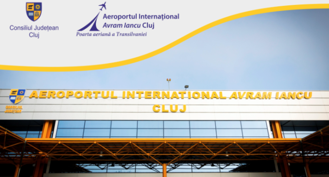 """Record de pasageri pe Aeroportul Internaţional """"Avram Iancu"""" Cluj în 2016"""