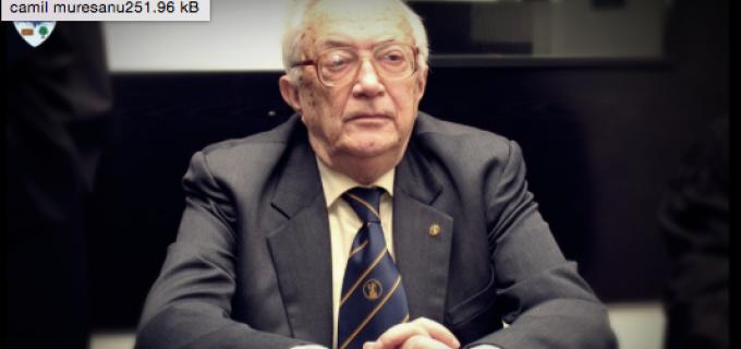 În amintirea celui care a fost Camil Mureșanu (1927-2015), cetățean de onoare al municipiului Turda