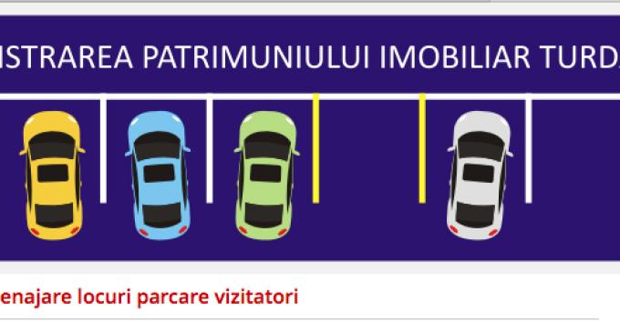 API Turda va retrasa marcajele din parcările de reşedinţă