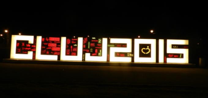 A fost inaugurat simbolul vizual al Capitalei Europene a Tineretului 2015