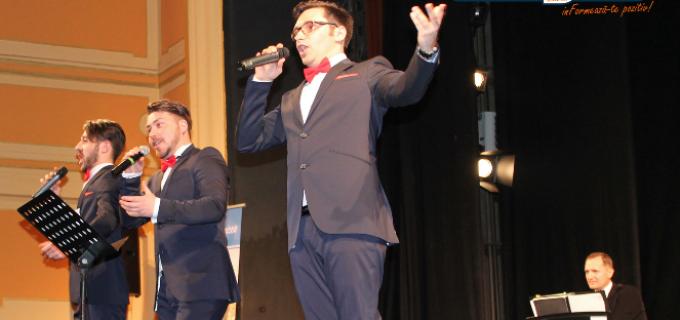 Spectacol oferit de tenorii Ad Libitum Voices la Teatrul Aureliu Manea. Vezi VIDEO si FOTO: