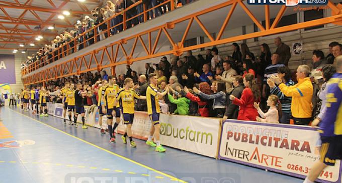 Vezi FOTO si VIDEO:  Potaissa Turda 29 – 21 Dinamo Bucuresti
