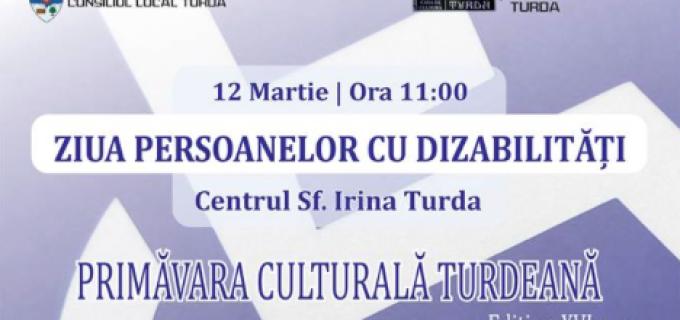 Ziua Persoanelor cu Dizabilități, în cadrul Primăverii Culturale Turdene