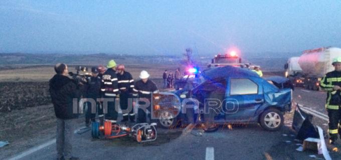 VEZI VIDEO: Accident mortal pe dealul Dăbăgău. Trei mașini implicate: