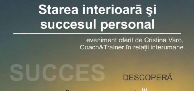 Mâine La Papion: Cristina Varo, trainer in relatii interumane si trainer in metoda NLP Rezonanz