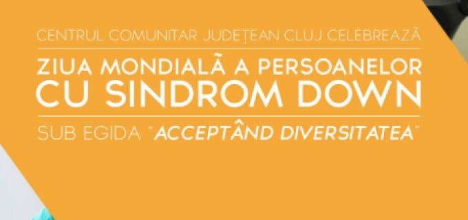 Eveniment cu ocazia Zilei Mondiale a Persoanelor cu Sindrom Down la Centrul Comunitar Județean