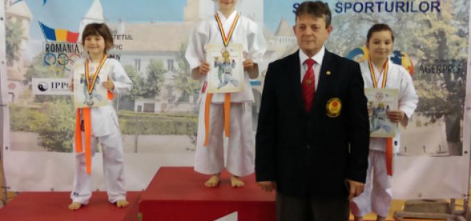 Karate Club Turda: 2 titluri de campion național, 1 vicecampion și 2 medalii de bronz