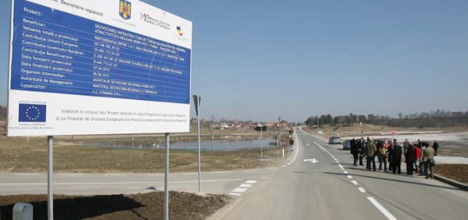 Astăzi are loc recepția finală la lucrările de drumuri din zona Băile Sărate