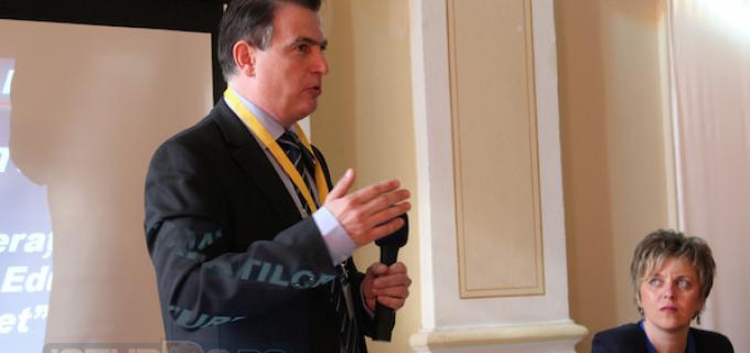 Marius Nistor – Președintele FSE Spiru Haret, a fost prezent la Conferința Judeațeană de la Turda