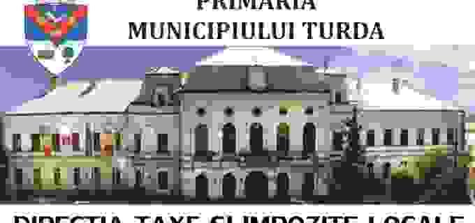 TVR Cluj și TVR 3 transmit în această seara o emisiune despre IMPOZITELE și TAXELE locale de la Turda