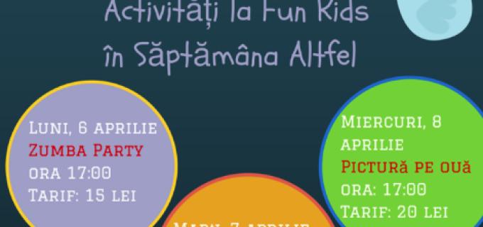Săptămâna Altfel este plină de activități și la Fun Kids Turda!